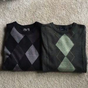 2 Men's Soft Sweaters